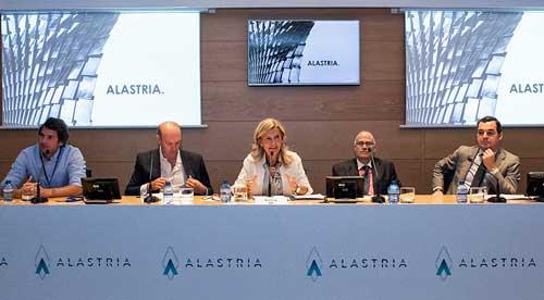 Alastria se presentó simultáneamente en Madrid, Barcelona, Bilbao, Valencia y Málaga