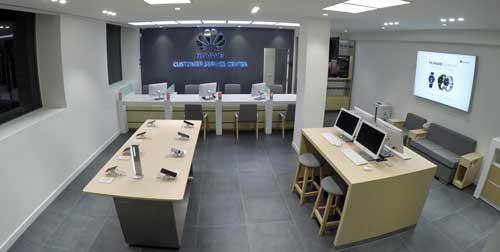 Los Centros de Experiencia de Huawei se han creado como espacios de marca y referencia de servicio