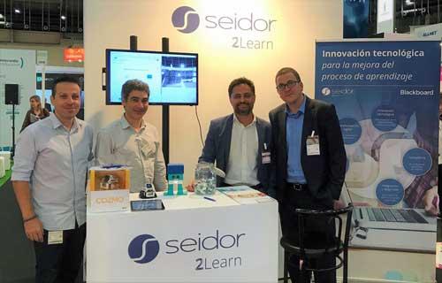 El proyecto Botter ha sido protagonista en el stand de Seidor en SIMO Educación 2017