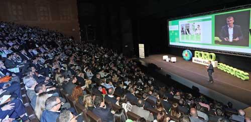 Josep Aragonés se dirige a los más de 1.200 profesionales de despachos y asesorías que han participado en el 22º Foro Asesores