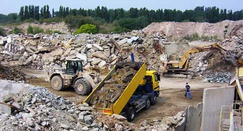 Los residuos de construcción y demolición representan un riesgo para el medio ambiente y presentan auténticos desafíos para la UE