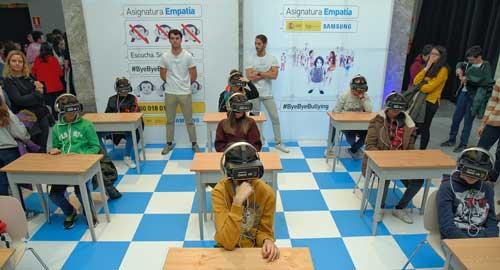 """Los escolares aprueban la """"Asignatura Empatía"""", una iniciativa de Samsung para combatir el acoso escolar"""
