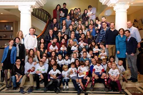 La Comisión Europea ha querido reunir a familias Erasmus residentes en España, el destino favorito de los estudiantes universitarios para completar su formación