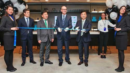 El Corte Inglés y Samsung inauguran la mayor tienda de experiencia tecnológica