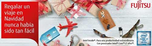 Fujitsu invita a su canal a hacer las maletas y conseguir premios por Navidad