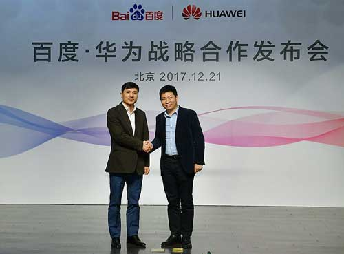 Huawei y Baidu, aliados, abanderan la nueva era de Inteligencia Artificial en el móvil