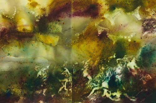 Detalle de El espíritu de la pintura de Cai Guo-Qiang - Foto: Museo Nacional del Prado