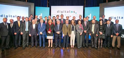 Altos directivos de las 30 empresas asociadas han asistido a la presentación de DigitalES
