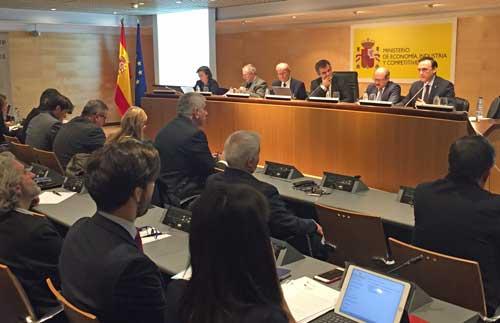 Reunión del comité organizador del Foro Transfiere