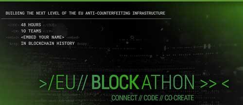 Blockathon UE 2018: La EUIPO invita a los mejores en blockchain a desarrollar herramientas contra las falsificaciones