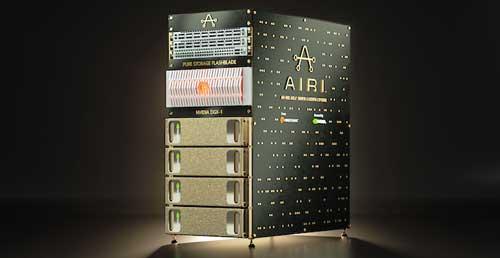 AIRI es una solución AI-Ready compuesta por software y hardware de Pure Storage y NVIDIA