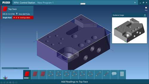 CAM2 2018 es una plataforma que se integra en toda la gama de productos de medición de FARO