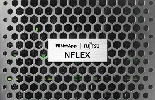 NFLEX integra las capacidades de los servidores Fujitsu con los sistemas del almacenamiento híbrido y All-Flash de NetApp