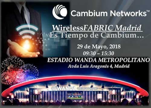WirelessFABRIC Madrid analizará las tecnologías de la 'transformación inalámbrica'