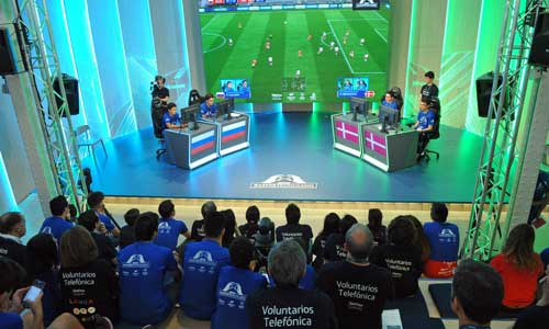 En el I Campeonato de eSportsUnificados han participado 64 gamers que han competido jugando a FIFA 2018