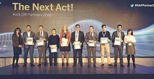 SAP destaca el éxito en cloud en su reunión anual de partners y premia a Seidor, Everis, IECISA, Altim, Birchman e Inforges