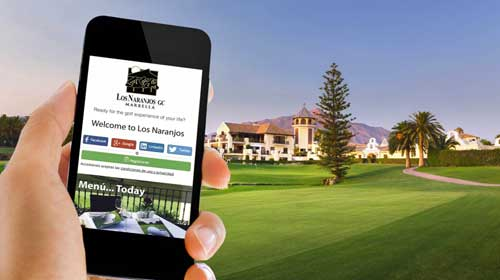 El club de golf Los Naranjos aplica el 'WiFi Marketing' de Cambium Networks