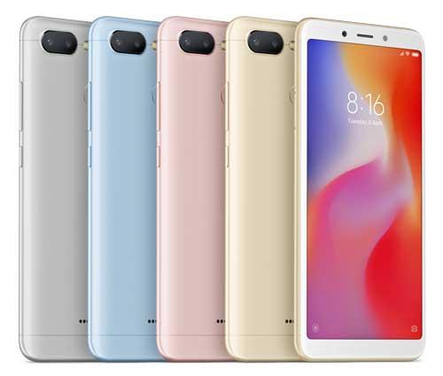 Los Redmi 6 y Redmi 6A de Xiaomi ya se comercializan a un precio inicial de 119 euros