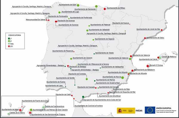 Red.es invierte 68 millones de euros en 24 proyectos de turismo inteligente