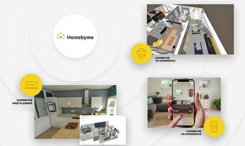 La plataforma HomeByMe ofrece una experiencia virtual desde la configuración 3D interactiva online hasta la realidad virtual inmersiva