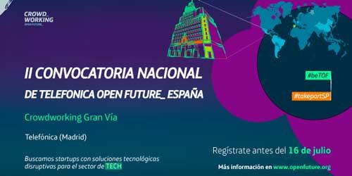 Telefónica Open Future busca startups para las sedes de Cataluña, Madrid y Castilla-León