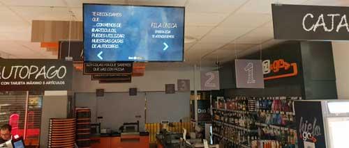 Supermercados Día integra el sistema de Fila Única de Altabox en sus tiendas