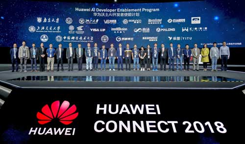 Presentación del AI Developer Enablement Program en el Connect 2018 de Huawei