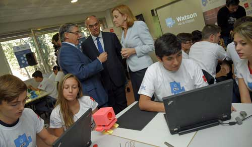 Watson va a clase: Los institutos de Madrid entran con IBM en la Inteligencia Artificial