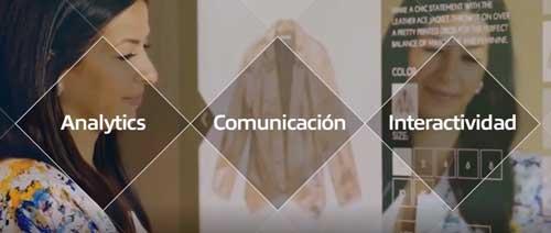 Econocom retail incluye diseño y despliegue de señalización digital, marketing sensorial y auditivo, pantallas táctiles, digitalización del catálogo, probadores y escaparates inteligentes y análisis de datos