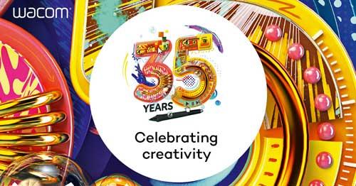 Con motivo de su 35º aniversario, Wacom quiere compartir su más profundo agradecimiento y celebrar la creatividad