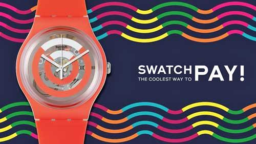 Con SwatchPay pagar es tan fácil como colocarse el reloj, deslizarlo por el lector contactless y listo: es sencillo, elegante y sexy (swatchy)