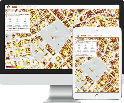 SolarMap calcula la energía solar que se puede producir y el retorno de la inversión