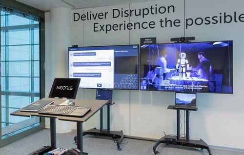 Los Laboratorios de Innovación Digital de Neoris fomentan la interacción y la colaboración con los clientes