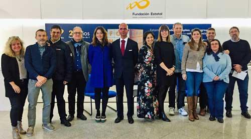 Participantes en la primera reunión de la Comisión Paritaria de la Economía Digital