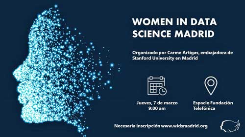 WiDS Madrid es el encuentro de referencia sobre Data Science y mujer en España