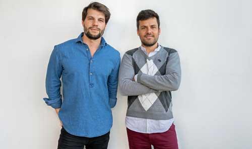 Sacha Gordillo y Luis Gelado, fundadores de GeoDB