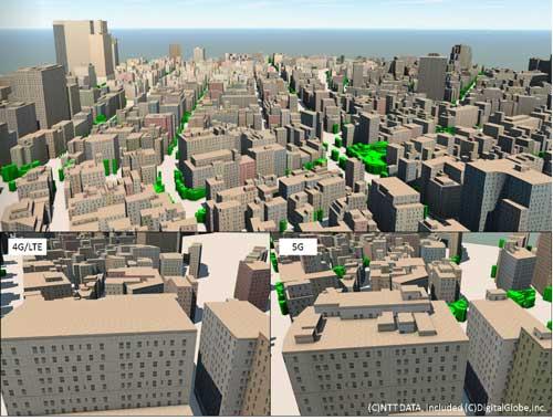 A3WD Telecom para 5G permite trabajar con software de diseño de redes inalámbricas utilizadas habitualmente en procesos de simulación por radio frecuencia