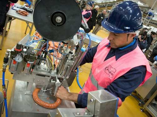 En Nueva Bureba, Campofrio ha creado con Cisco Connected Factory una fabrica inteligente capaz de conectar máquinas, dispositivos, sensores y personas en tiempo real