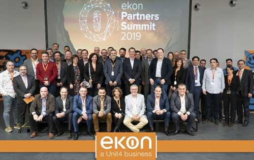 Participantes en el Partner Summit 2019 de ekon