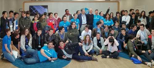 Participantes en la edición de Madrid de CodeWars