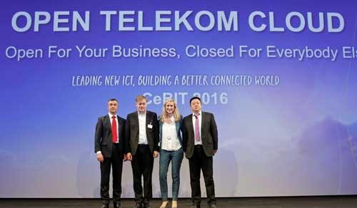 Open Telekom Cloud ha sido desarrollada sobre OpenStack por Deutsche Telekom, Huawei y T-Systems