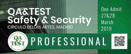 """QA&TEST Safety & Security pretende ser un punto de encuentro para que la industria """"ponga en común las mejores prácticas"""