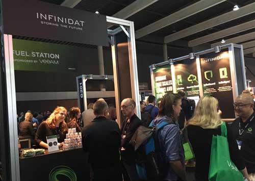 Infinidat presenta en VMworld 2018 nuevos modelos para el almacenamiento y protección de datos corporativos