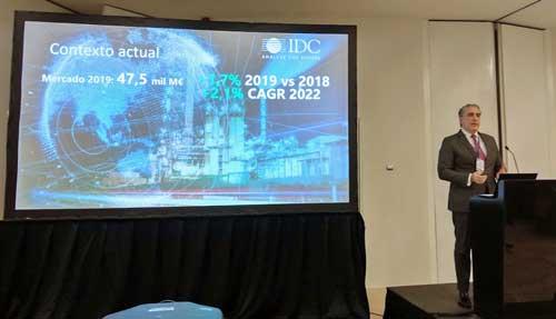 El gasto en Tecnologías de la Información de las empresas españolas superará los 47.500 millones en 2019, según IDC Research