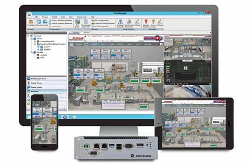 La versión 11.0 de ThinManager brinda más flexibilidad al navegar por diferentes pantallas
