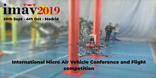 IMAV2019: Llega a Madrid la mayor competición de drones autónomos