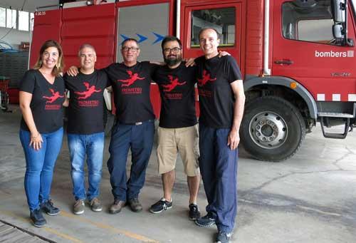 El equipo del proyecto Prometeo ganador del premio Call for Code 2019
