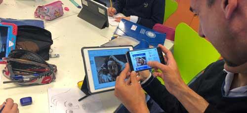 FaceFeeling permite trabajar las expresiones de los retratos a los alumnos de primaria y de la ESO