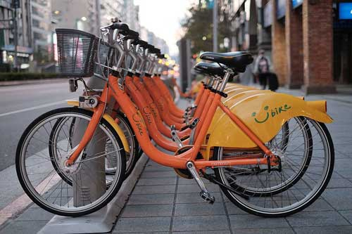 El servicio de bicicletas de Taipéi dispone de un parque de más de 100.000 vehículos y gestiona más de 30 millones de alquileres al año