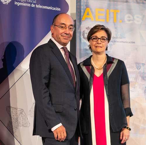 El CEO de Teldat, Ignacio Villaseca, reconocido como Ingeniero del Año por el COIT y la AEIT